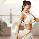 Weight,Loss,,Slim,Body,,Healthy,Lifestyle,Concept.,Fit,Fitness,Girl